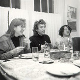 We had some great dinners in college. That's Katherine Roller, Paul Mecklenburg, and Christopher Young